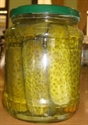 Picture of Canned Cucumber (gherkins)