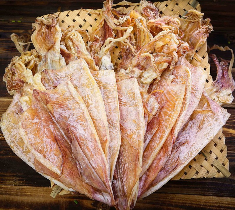 Picture of KOREANS SUDDENLY 'LOVE' DRIED SQUID FROM VIETNAM
